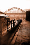 Photo of a Photo  Newcastle Quayside as it used to be