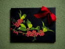 Christmas Holly Canvas
