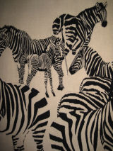 Zebras (detail)