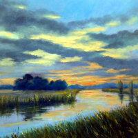Evening Clouds - Barbara Harlow