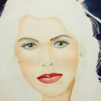 Sharon Hurst - Completed Painting