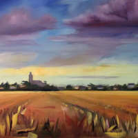 Bob Wells - Thunder Clouds over Sutton Church