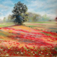 Jo Scarffe's Pastel Painting