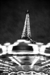Carousel at The Eiffel Tower, Paris