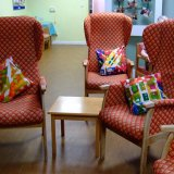 chairs and cushions