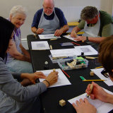 York Older People's Forum making plates