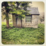 Digger's Shed in Churchyard