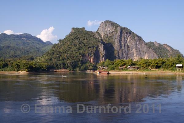 View across the Mekong