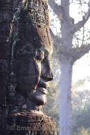 Profile of Bayon head