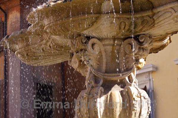 Fountain in Piazza Farnese