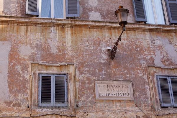 Piazza di Santa Maria in Trastavere