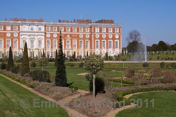 Hampton Court Palace and Privy Garden