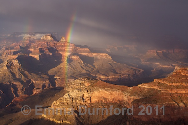 Storm over Plateau Point