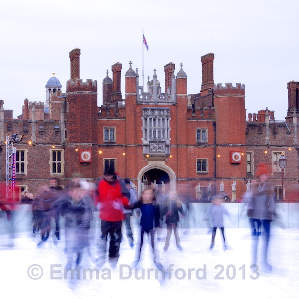 Ice Skating at Hampton Court Palace - day