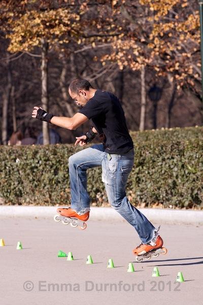 Skate practice