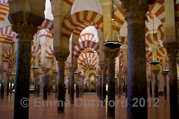 View across the Mezquita main hall