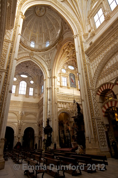 Cathedral within the Mezquita