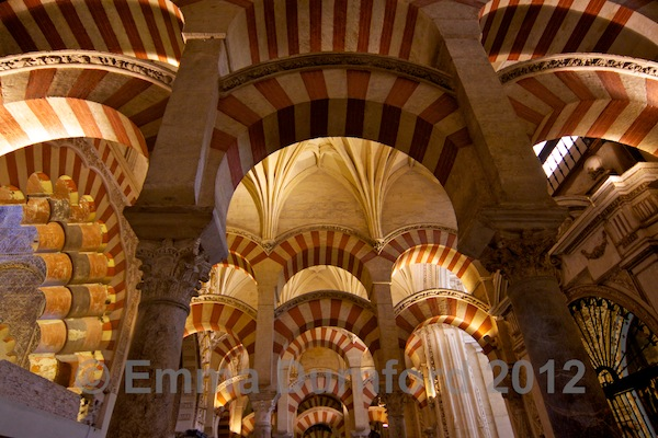 Another view of the Mezquita hall