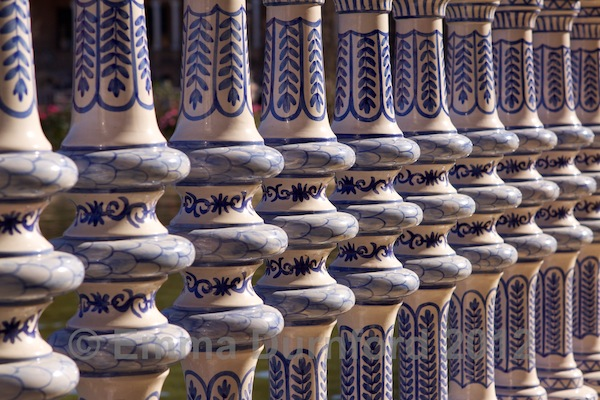 Ceramic balustrade