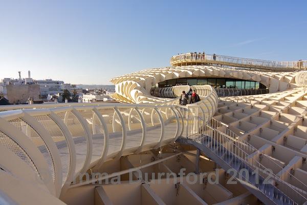 The Metropol Parasol roof terrace