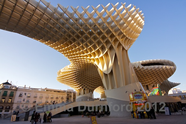 The Metropol Parasol and Plaza de la Encarnación