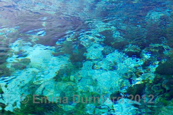 Fresh water springs