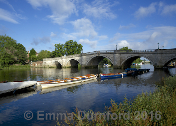 Richmond Bridge in Summer