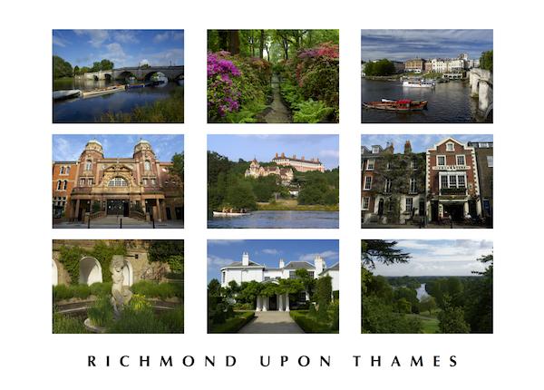 POSTCARD - Richmond upon Thames montage