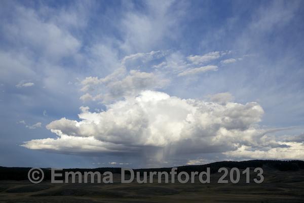 Cumulo nimbus storm cloud