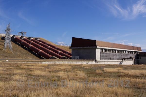 Ohau B Hydro station