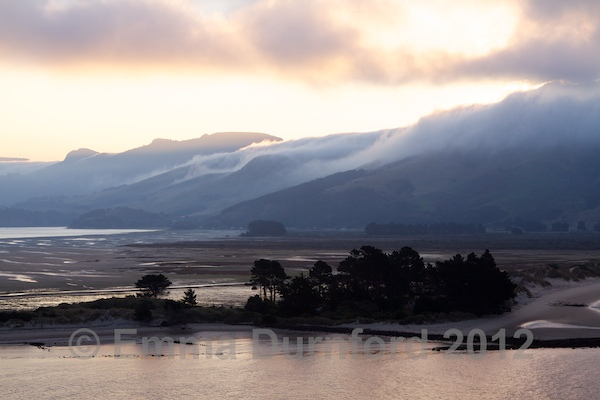 Dusk on the Otago Peninsula