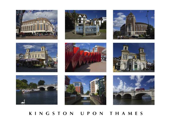 POSTCARD - Kingston upon Thames montage
