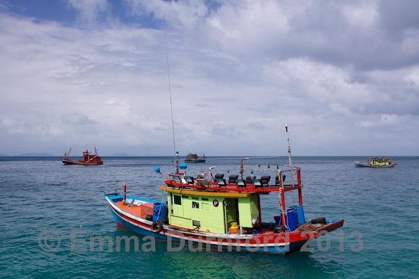 Chinese Fishing Boats