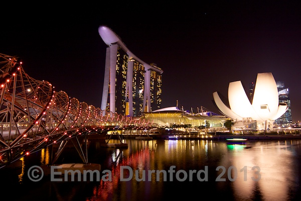 Marina Bay Sands Hotel and ArtScience Museum