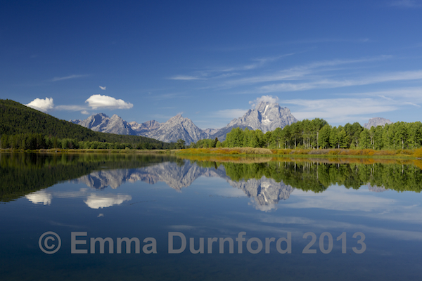 Reflections at Oxbow Bend turnout