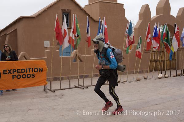 Finish of the Atacama Crossing 2015