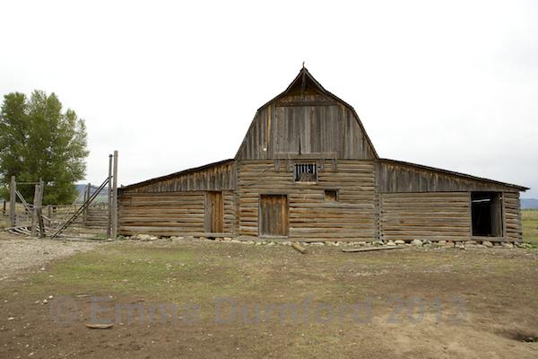 The Moulton Barn - Mormon Row
