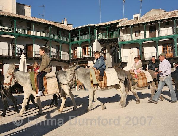 Spanish donkey rides
