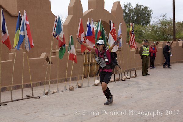 Finish of the Atacama Crossing 2015