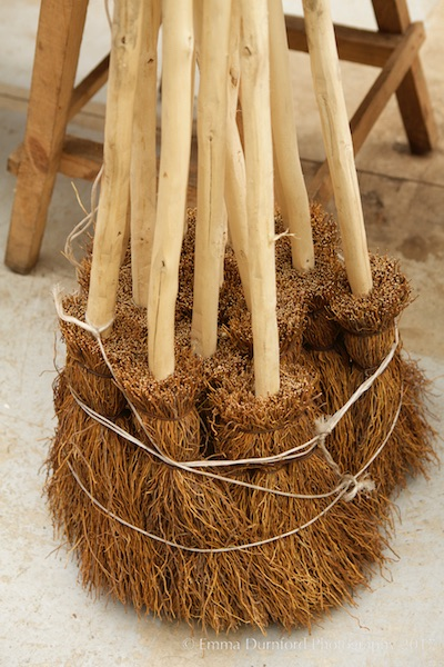Besom brooms