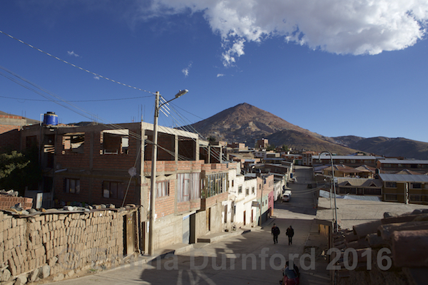 Street in Potosi