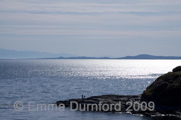 The Strait of Juan Fuca
