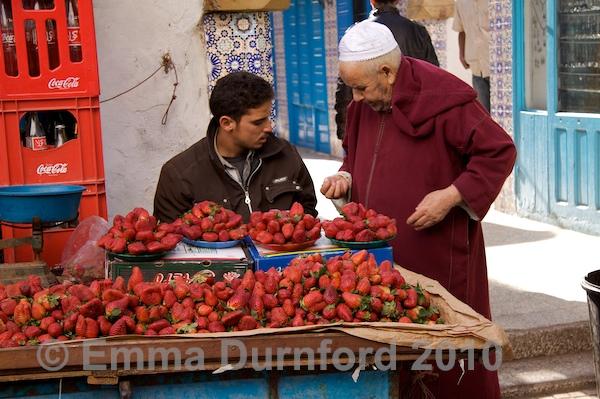 Strawberry Stall