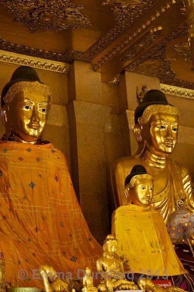 Temple Buddhas