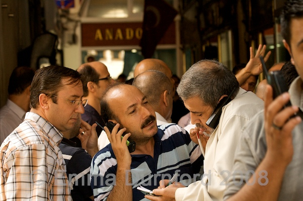 Turkish gold traders