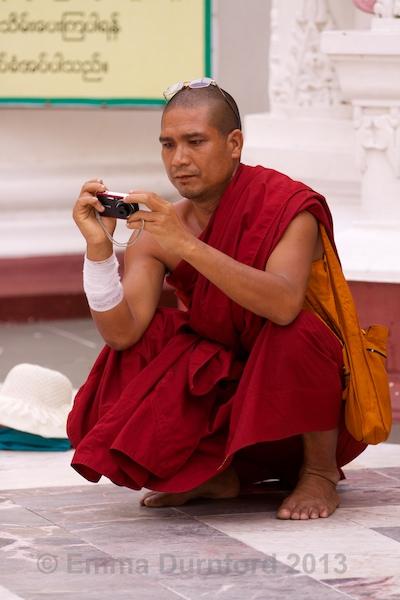 Burmese photographer