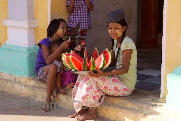Water melon sellers