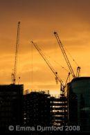 Docklands sunset