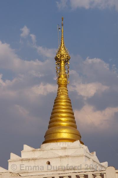 Temple minaret