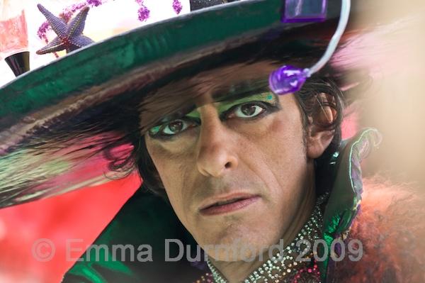 Venetian carnival participant